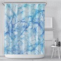 Новая занавеска творческая цифровая печатная занавеска водонепроницаемый полиэстер ванная комната занавес для ванной комнаты настроек настроек настроек оптом