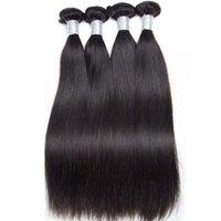 Wholesale 12a Grade Cuticle Aligned 100 Brazilian Virgin Hair Straight Bundle Tangle Free No Shedding For Black Women