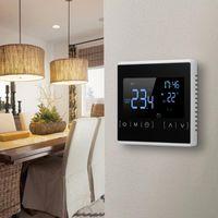 Smart Home Control LCD Pantalla táctil Termostato Programable Piso eléctrico Sistema de calefacción Termorgulador Controlador de temperatura
