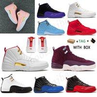 2021 12 12 S Erkek Kadın Basketbol Ayakkabıları Jumpman Koyu Concord Ters Spor Sneakers Eğitmenler Grip oyunu Altın Yıldönümü Bred