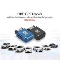 Araba GPS Aksesuarları GSM GPRS Mini Tracker Izleme OBD II 2021 306A TK206 2 Gerçek Zamanlı Quad Band Anti-Hırsız Titreşim Alarmı