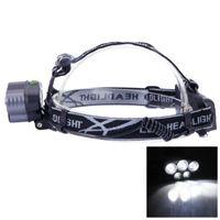 Lampy głowy 1800 wysokie lumenki Przenośne oświetlenie 18650 USB LED Wodoodporna LED Wodoodporna reflektor 3 Tryby Reflektory dla dorosłych Uruchamiający Camping Wędkarstwo wędrówki
