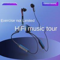 G13 스포츠 마그네틱 무선 블루투스 이어폰 이어폰 및 목 교수형 스테레오 5.0
