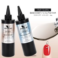Venalisa Marca 225G Super Qualidade Recarga Gel Nail Art Soak Off UV / LED sem limpe o casaco de cobertura superior sem camada pegajosa