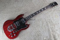 G Modell E-Gitarre transparent rot mit billig hoher Qualität SG Guitars @ 16