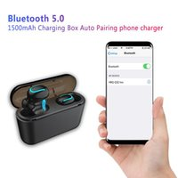 Top quality Q32 Wireless Bluetooth Earphones 5.0 TWS Stereo Sport Running Music Headset HD Call Waterproof Microphone Portable Mini Headphones With Case