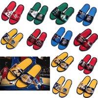 Basketball Stern Marke Designer Sport Hausschuhe Herren Sommer Gummi Sandalen Strand Slide Mode Rutschfeste Flip Flops Indoor Schuhe Größe 40-45