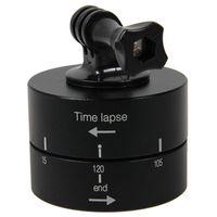 Tripod Heads 360 Graus Panning Rotating Time Lapse Adaptador Stabilizer para IlDC