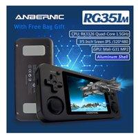 Anbernic RG351M WIFI PS1 الرجعية لعبة لعبة 128 جرام 10000 ألعاب RG351P ترقية نسخة PS GB N64 جيب يده لعبة لاعب الهدايا