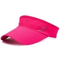 2021 أزياء أفضل البائع قبعة رجل الصيف حماية الشمس قبعة البيسبول شبكة عاريات قبعة في الهواء الطلق قبعة الشمس الشمس