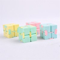 New Infinity Cube Candy Color Fidget Cube Anti Stress Cube F...