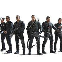 NECA der Terminator 2 Action Figure T-800 / T-1000 PVC Spielzeug Modell 7 Typen 18 cm