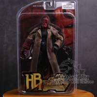 Mezco hellboy pvc action figure sammelbare modell spielzeug