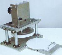 Ce elektrische 22 cm pizzateig dringmaschine pizzatough flaching maschine teig rollenblatt drücken gebäck pizza noodle press