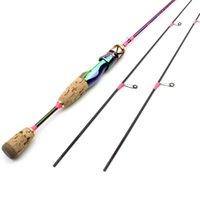 1.68M Lure Pesca Asta UL Slow Spinning Casting Rod Carbon 2 Sezioni Sezioni Bellissimi Pole da pesca Peso 3-7g Suggerimenti di scorta