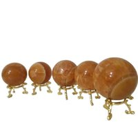 2021 Kamień naturalny Kula Fancy Calc Crystal Ball Feng Shui Chakra Arts Crafts Kwarcowy Obelisk Wand Healing Crystals Siatki Różowe Figurka Gemstone Reik