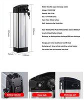 36V 48V 10Ah 12ah 15ah 20ah Electric Bike Batterie Pack Oberer Entladung Silberfisch Power Lithium-Batterien
