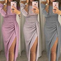 Women Summer Long Skirt Evening Dress Evening Party Beach Dress Skirt Summer Sexy High Split Dress Summer Hot Sale
