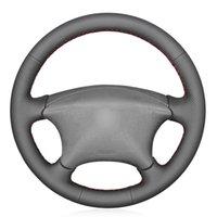Крышка рулевого колеса Black PU искусственной кожи для XSARA Picasso 2001-2010 Berlingo 2003-2008 C5 2001-2006 Партнер