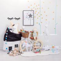 Aufbewahrungstasche Cartoon Haus Kordelzug Fitnessstudio Eimer Dicke Reise Ziehen String Kosmetische Make-up-Etui für Home Bags DWF5062