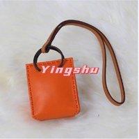 Keychains Master Craftsmen Sew Sheepskin Mini Shopping Bags Fashion Lucky Bag Charm Car Ornaments Backpack School Handbag Pendant