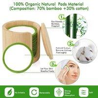 Sponges, Applicators & Cotton Q1QD 16 20Pcs Reusable Bamboo Fiber Pads Washable Makeup Remover Pad Soft Face Skin Cleaner Facial Cleaning Be
