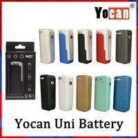 Yocan Uni box мод комплекты 650mah предварительно нагрев vv вариабельный напряжение аккумулятор с магнитным адаптером 510 для толстого масляного картриджа против vmod th420