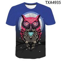 2021New Tee Summer Eagle 3D Printed Tshirt Men Women Wear Material Soft And Com Tshirt Children Casual Short Sleeve Men's Top