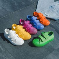 Sneakers Students Canvas Shoes Breathable Boys Girls Sports Fashion Candy Kindergarten Kids Toddler Sapato Infantil