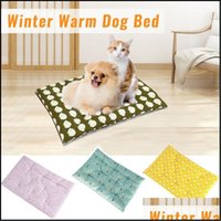 Cat Supplies Home Gardencat Beds & Furniture Pet Bed Dog Cushion Mat Washable Long Plush Kennel Donut Soft Warm Round Comfortable Calming Dr