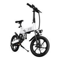 [EU UK Stock] ADO A16 Faltbare Elektrische Fahrrad 16 '' reifen 350w dc motor 25km / h max geschwindigkeit männer frauen city bike ebike