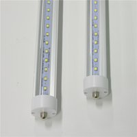T8 LED Tubes Lights 6ft 8ft FA8 One Pin AC85-265V PF0.95 2835SMD R17D Rotate Fluorescent Bulbs 5000K 5500K Lamps Direct Sale from Shenzhen China Factory Wholesale
