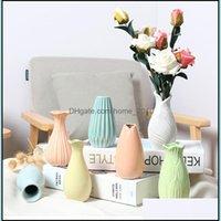 Décor & Gardenvintage Ceramic Chinese Hydroponic Plant Vases Flower Decoration Living Room Ornaments Home Wedding Decor Vase Drop Delivery 2