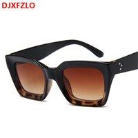 DJXFZLO 2021 NUEVO PERSONALIDAD DE MODA Gafas de sol salvajes Mujeres de la marca Diseñador de sol clásico Gafas de sol Vintage UV400