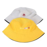حافة واسعة القبعات مزدوجة الجانب للجنسين المتناثرة دلو قبعة الصيد في الهواء الطلق كاب المرأة واقية من الشمس التطريز