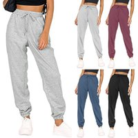 Women's Pants & Capris Fashion Loose Sports Jogging In Autumn And Winter Solid Color Trousers Full Length Comfort Sweatpants