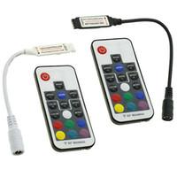 4pcs Mini LED 17Key RF Telecomando wireless Telecomando per LED LED RGB Light DC 5V - Controllo 24V