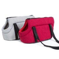 Köpek araba koltuğu nefes pamuk omuz çantası kapakları sıcak taşınabilir catdog çanta küçük damla için rahat seyahat taşıyıcı