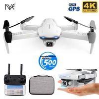 NYR новый GPS Drone S162 4K HD Dual-Camera 5G WiFi FPV Складной Quad-Rotor Dron One Key Reblue расстояние до 500 метров