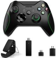 2.4 جيجا هرتز تحكم لاسلكي ل Xbox One، متعدد الوظائف المزدوج الاهتزاز من gamepad، متوافق مع نظام التشغيل Windows PC Android 210317