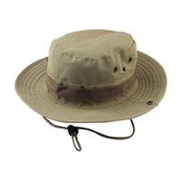 Newmen pescador chapéu largo borda chapéus Sólida cor alpinismo tampas dobrável outdoor tapete de pesca summe sunhat ewb7129