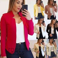 Women's Suits & Blazers 2021 Spring And Autumn Women's Small Suit Long Sleeve Cardigan Jacket Fashion Foreign Style lulu365