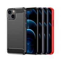 Carbon Fiber Soft Cases TPU Protective Back For Samsung galaxy s21 phone case Note 20 S20 PLUS S10 S10e Ultra S20FE iPhone 13 12 11 PRO MAX XR XS