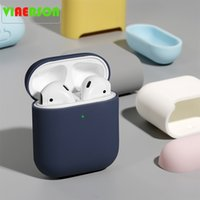 Earphone Accessories fino tpu bluetooth sem fio fone de ouvido caso protetor para for airpods 2 multi cor doces saco