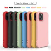 Soft Slim Case TPU Liquid Solid Silicone phone Covers CellPhone Cases Accesories For New apple iPhone 13 pro max 12 Mini 11 X Xr Xs 8 7 6 6S Plus multi color Matte back cover