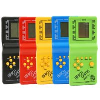 Classic Tetris Hand Nostalgic Host Player Held Electronic Toys Console for Kids Playing Fun Brick Game Riddle Handheld