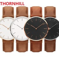 Lovers Bracelet Montre De Luxe Gift Quartz Watches Women Men Top Quality Genuine Leather Chronograph waterproof Man wristwatches With Original Boxes