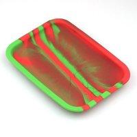 Silikon-Walz-Tablett 200x145 mm Andere Raucher-Zubehör Tabak-bunte Roll-Tabletts für das Herstellen von Papieren Rauchzubehör