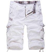 Chaud 2021 Summer Tactical Cotton Combinaison Pantalon Coréen Cropped Grand Taille 38 Pantalon 3/4 des hommes occasionnels