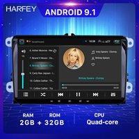 2+32G Car dvd Radio GPS Player 9inch 2din Android multimedia for VW Volkswagen SEAT LEON CUPRA Skoda Passat b5 b6 CC